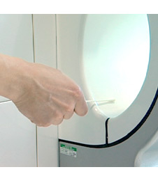 Dyson Airblade V Hand Dryer - Antimicrobial additive