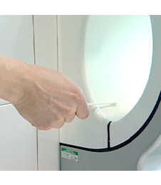 Dyson Airblade dB commercial hand dryer has a Antimicrobial coating